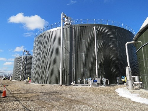 Food Waste Biogas Plant in NC