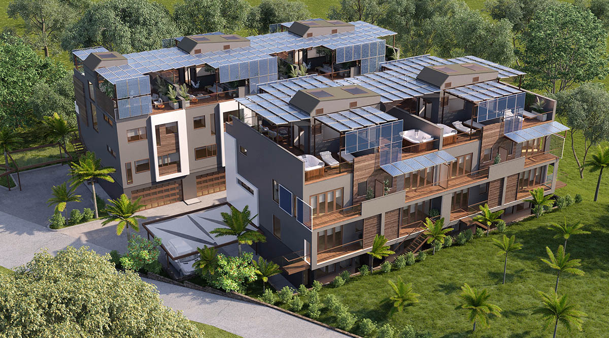 Solar Assisted Apartment in Hawaii